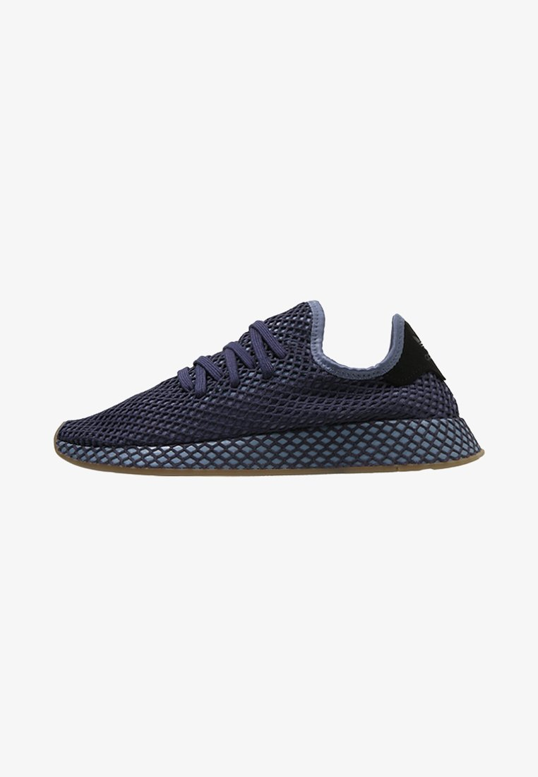 adidas Originals - DEERUPT RUNNER - Sneakers laag - darkblue/ashblue