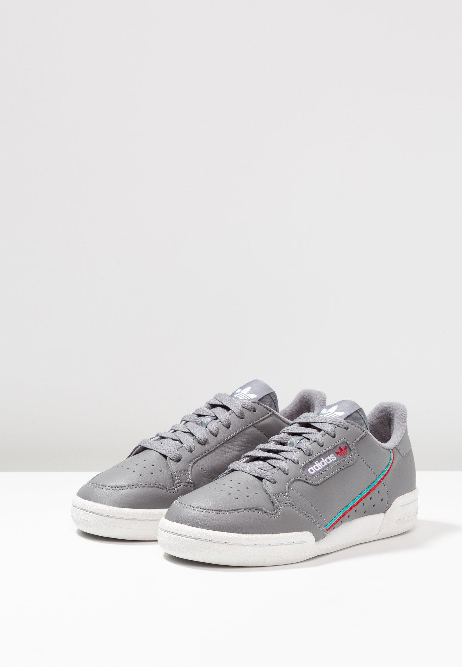 res Basses hi Adidas Originals Aqua scarlet Three Continental Grey 80Baskets L4Aj35R