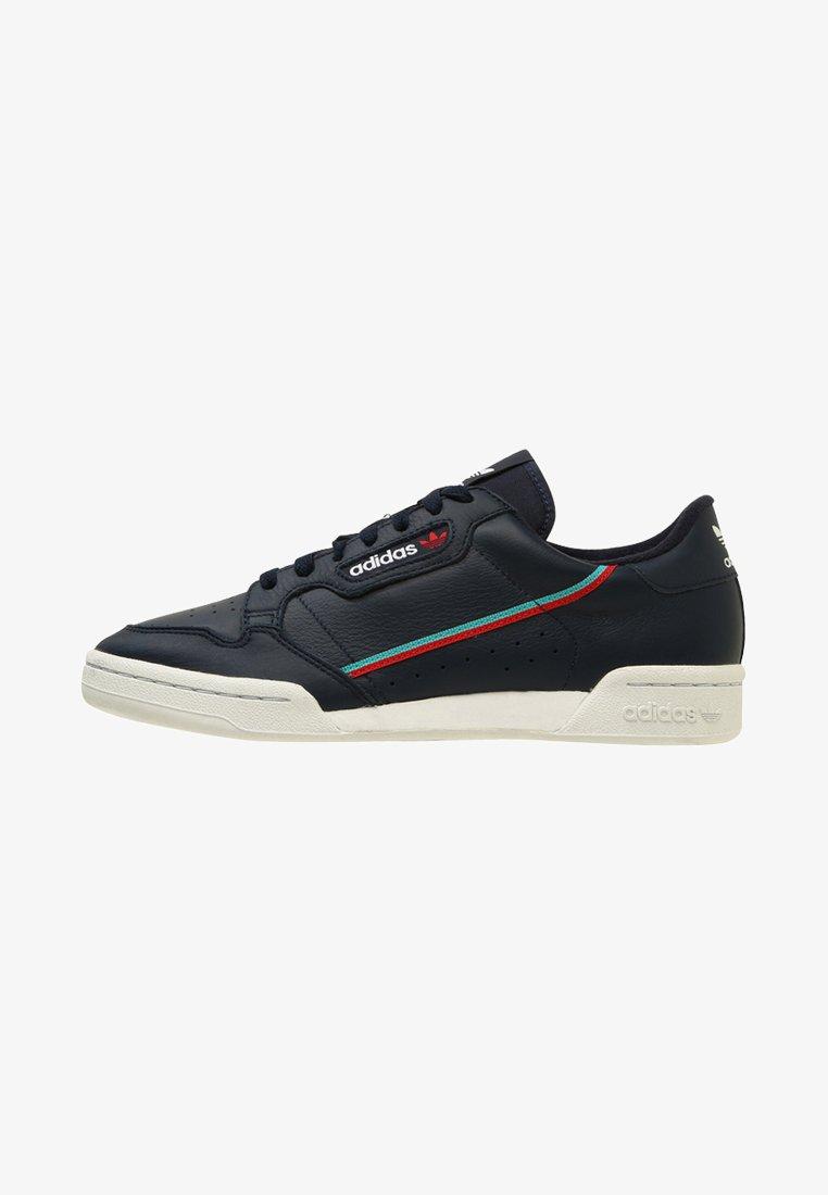 adidas Originals - CONTINENTAL 80 - Sneakers - colligiate navy/scarle/hiraqu