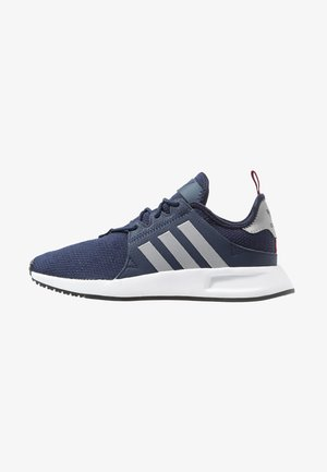 X_PLR - Sneaker low - collegiate navy/silver metallic/collegiate burgundy