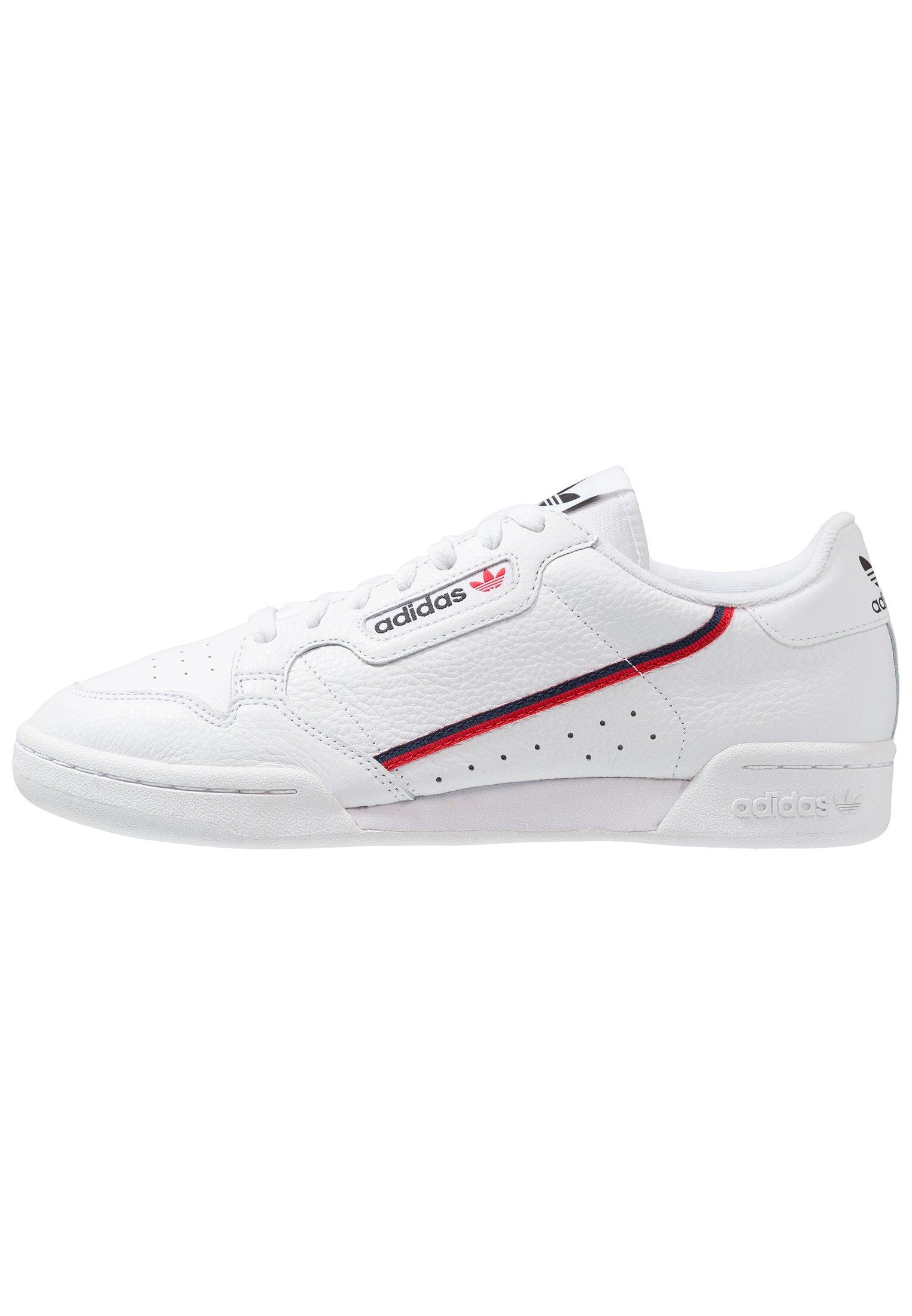 CONTINENTAL 80 SKATEBOARD SHOES Sneakers laag footwear whitescarletcollegiate navy