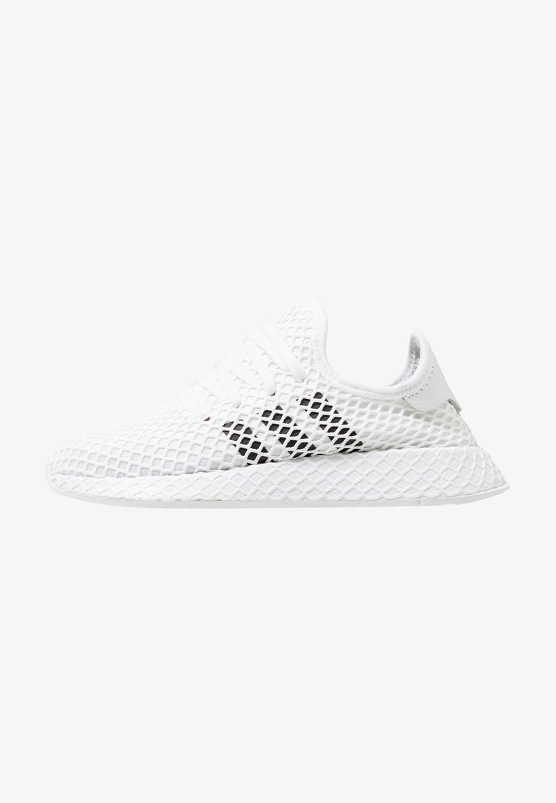 adidas Originals - DEERUPT RUNNER - Sneakers - footwear white/core black/grey two