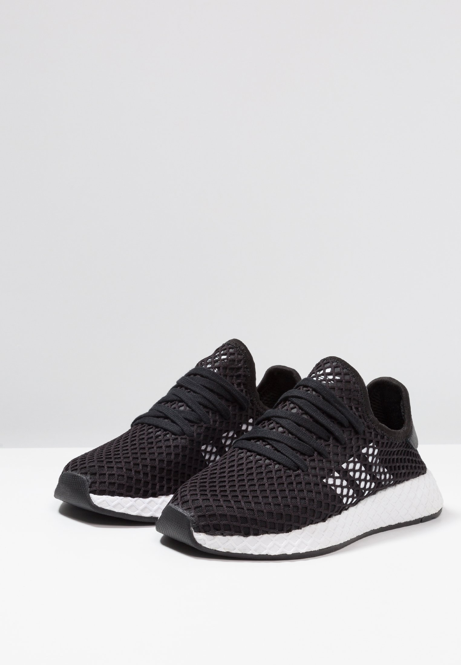 Deerupt Basses Originals Core RunnerBaskets footwear Adidas Balck White wPOk8Xn0