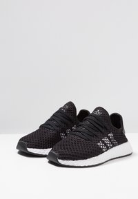 adidas Originals - DEERUPT RUNNER - Trainers - core balck/footwear white - 2