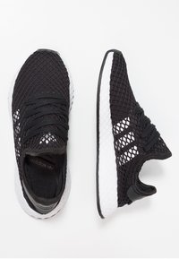 adidas Originals - DEERUPT RUNNER - Trainers - core balck/footwear white - 1