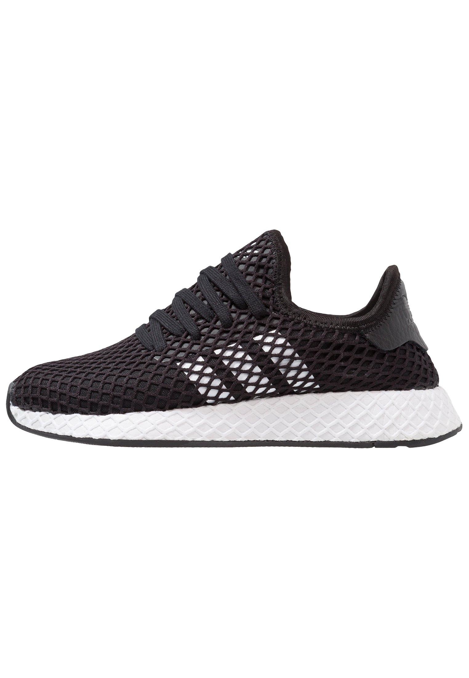 adidas Originals DEERUPT RUNNER - Sneakersy niskie - core balck/footwear white