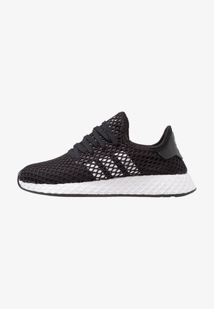 DEERUPT RUNNER - Matalavartiset tennarit - core balck/footwear white