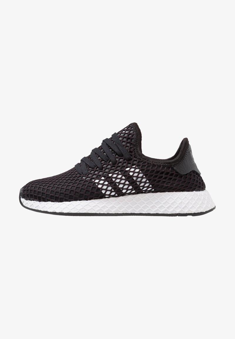 adidas Originals - DEERUPT RUNNER - Sneakers laag - core balck/footwear white