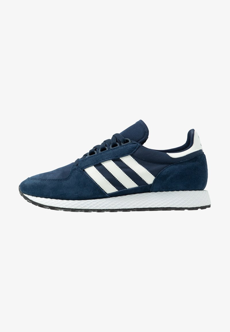 adidas Originals - FOREST GROVE - Sneakers basse - collegiate navy/cloud white/core black