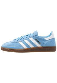 adidas Originals - HANDBALL SPEZIAL - Sneakers - ltblue/ftwwht/gum5 - 0