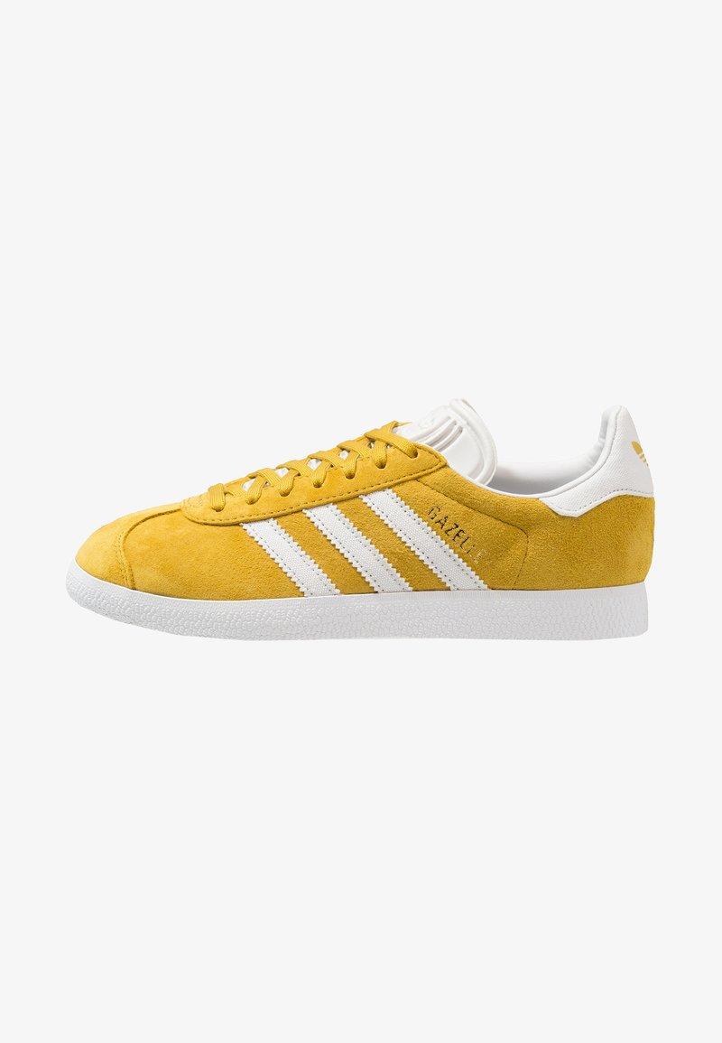 adidas Originals - GAZELLE - Trainers - raw ochre/crystal white/foottwear white