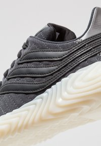 adidas Originals - SOBAKOV - Trainers - carbon/core black/fottwear white - 5