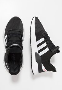 adidas Originals - U_PATH RUN - Matalavartiset tennarit - core black/ash grey - 1