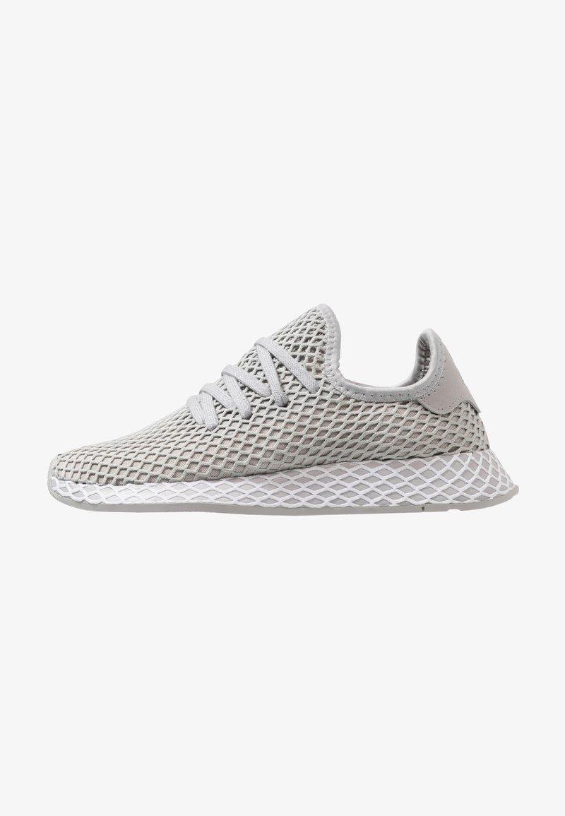 adidas Originals - DEERUPT RUNNER - Trainers - grey two/footwear white/hi-res yellow