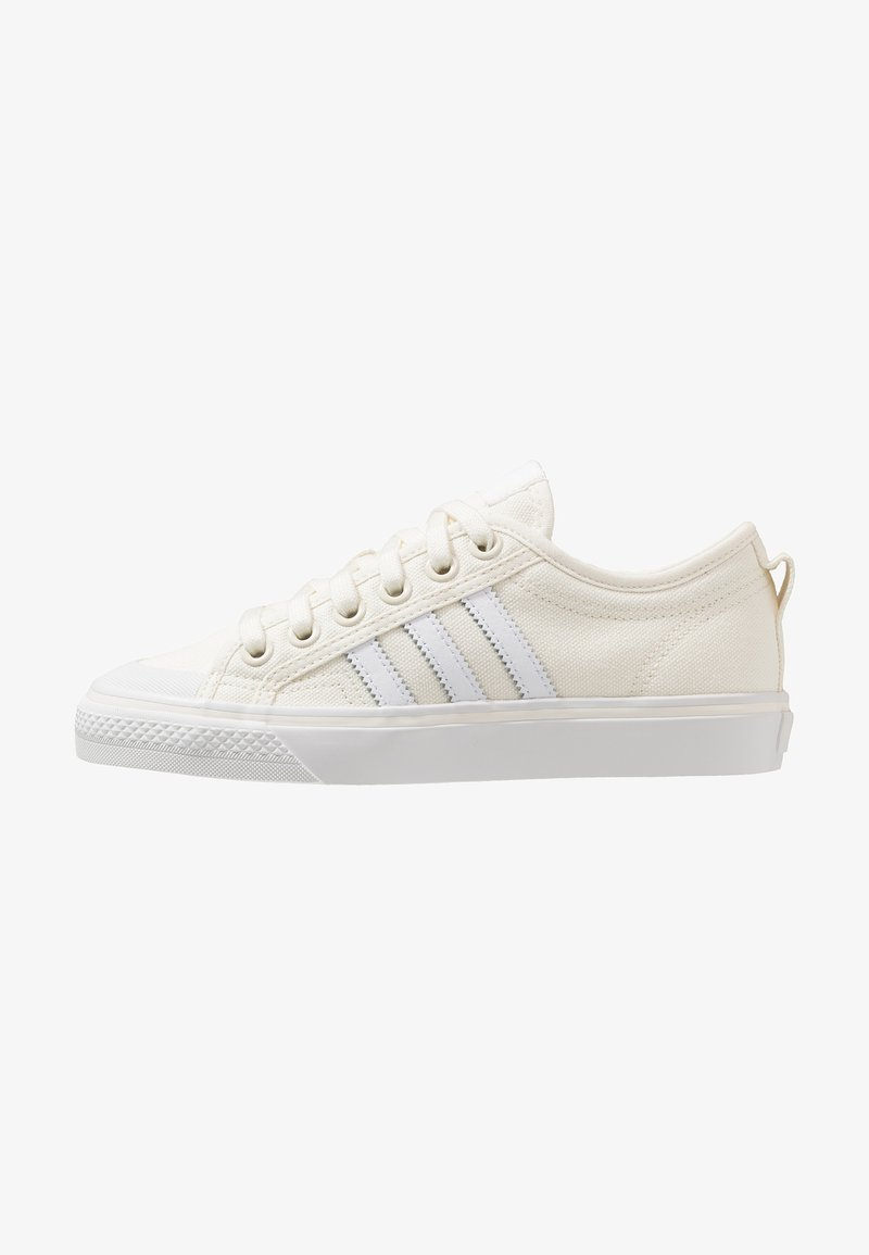 adidas Originals - NIZZA - Sneaker low - offwhite/footwear white/crystal white