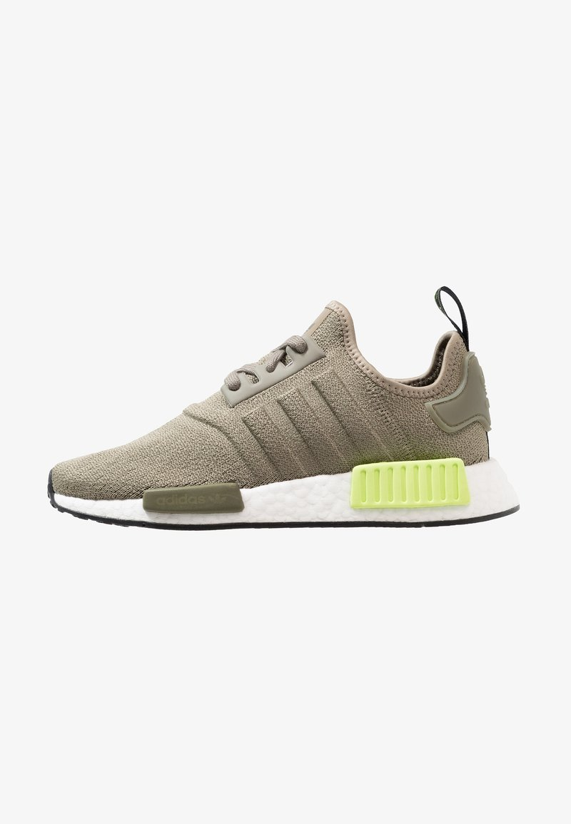 adidas Originals - NMD_R1 - Trainers - trace cargo/solar yellow