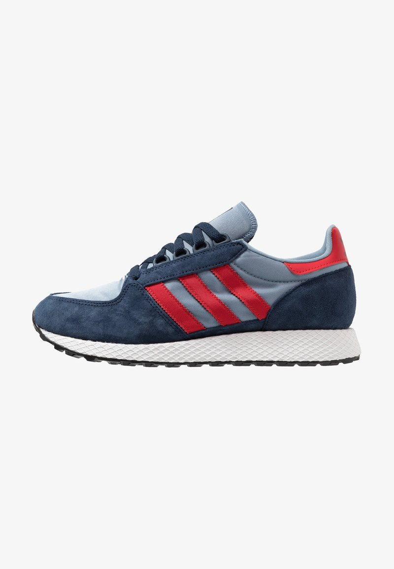 adidas Originals - FOREST GROVE - Sneakers laag - collegiate navy/collegiate red/tactile blue