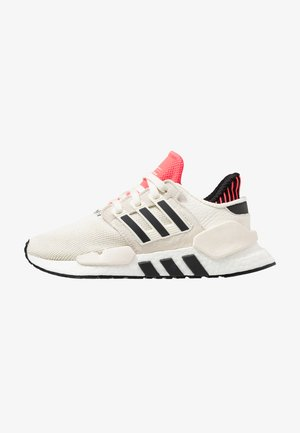EQT SUPPORT 91/18 - Baskets basses - offwhite/core black/shock red