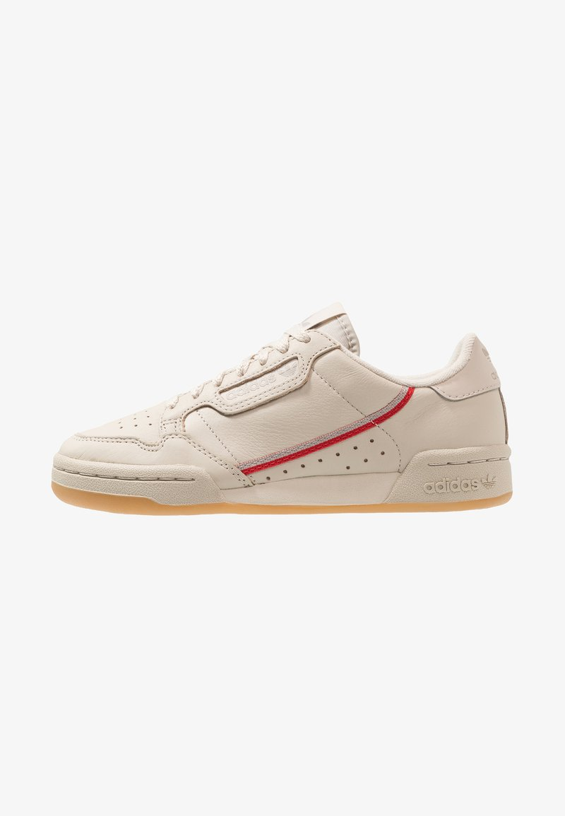 adidas Originals - CONTINENTAL 80 - Baskets basses - clear brown/scarlet/ecru tint
