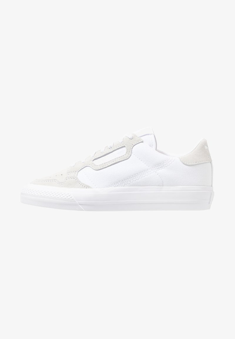 adidas Originals - CONTINENTAL VULC  - Matalavartiset tennarit - footwear white/crystal white