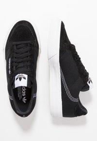 adidas Originals - CONTINENTAL VULC  - Sneakers basse - coreblack/footwearwhite - 1
