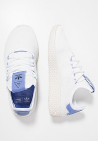 adidas Originals - PW TENNIS HU - Tenisky - footwear white/real lilac/chalk white - 1