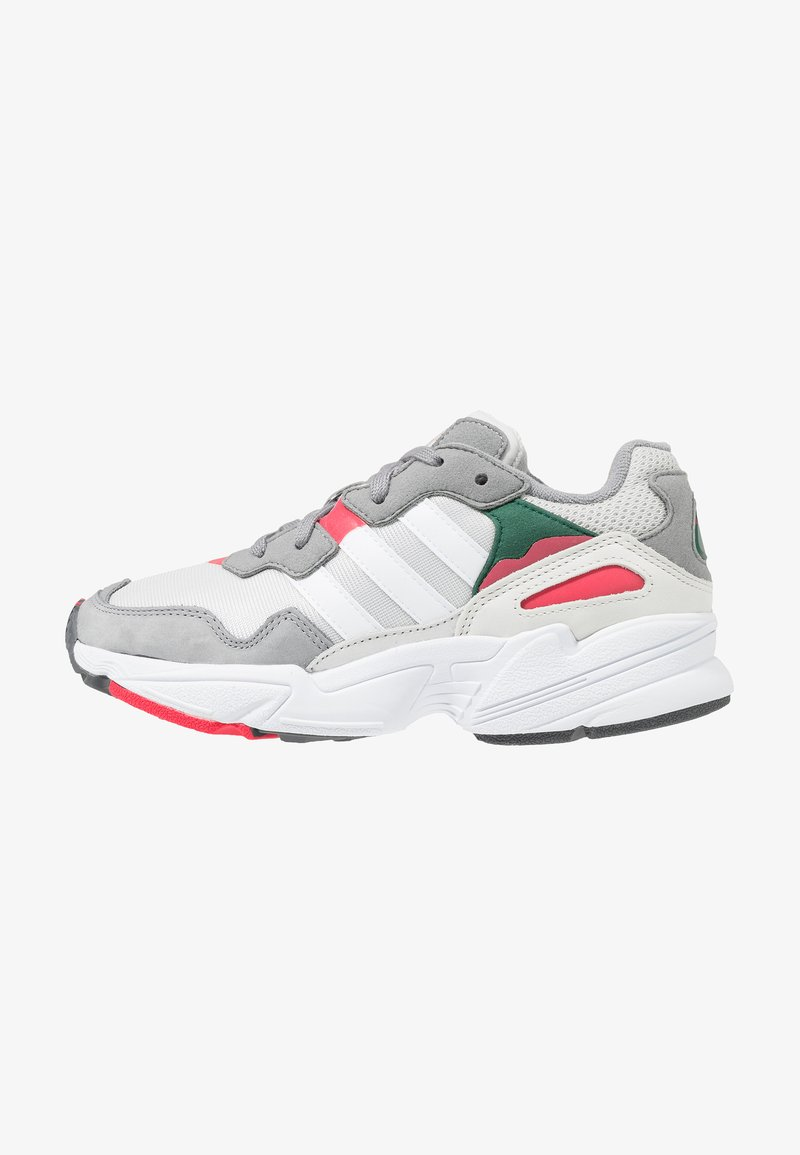 adidas Originals - YUNG-96 - Trainers - greyone/crystal white/active pink