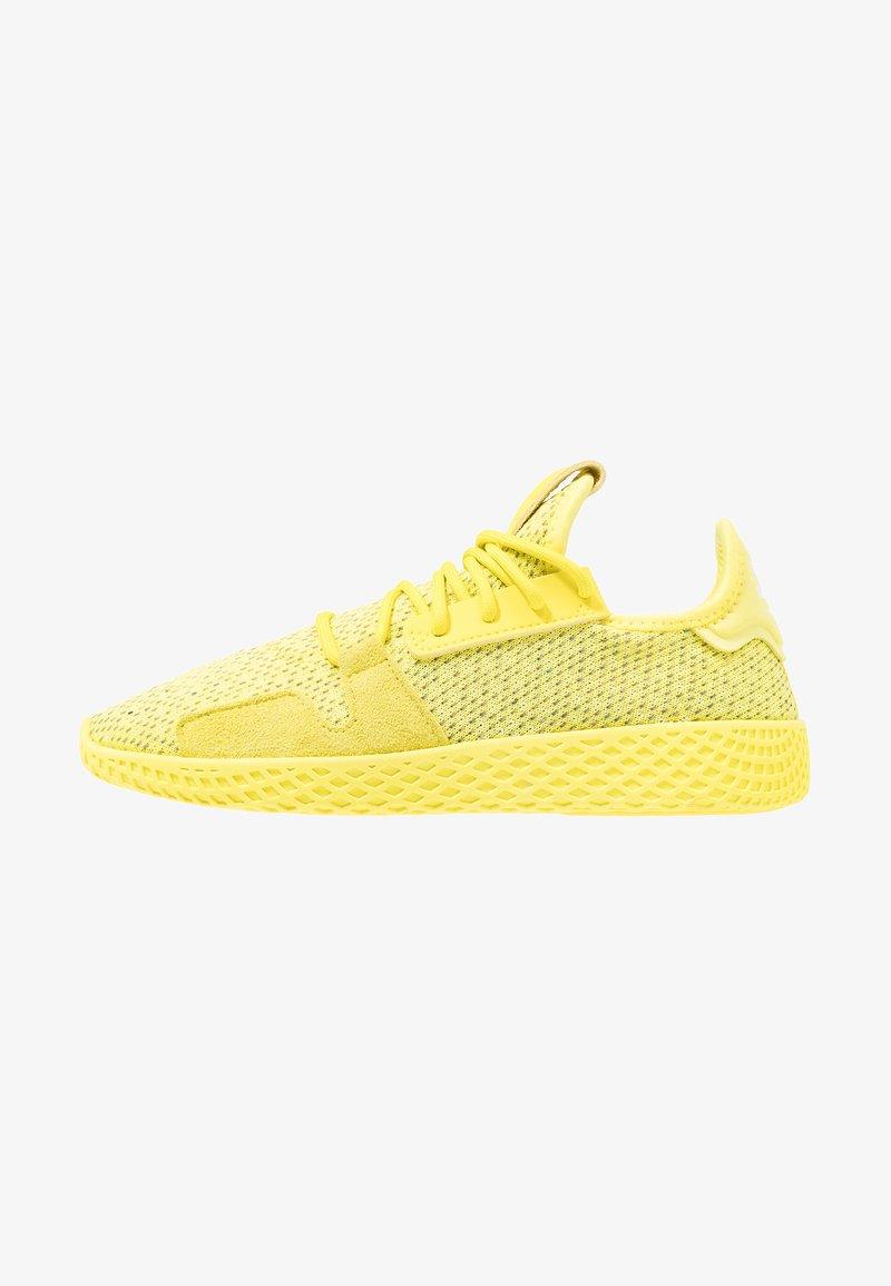 adidas Originals - PW TENNIS HU V2 - Zapatillas - shock yellow/footwear white