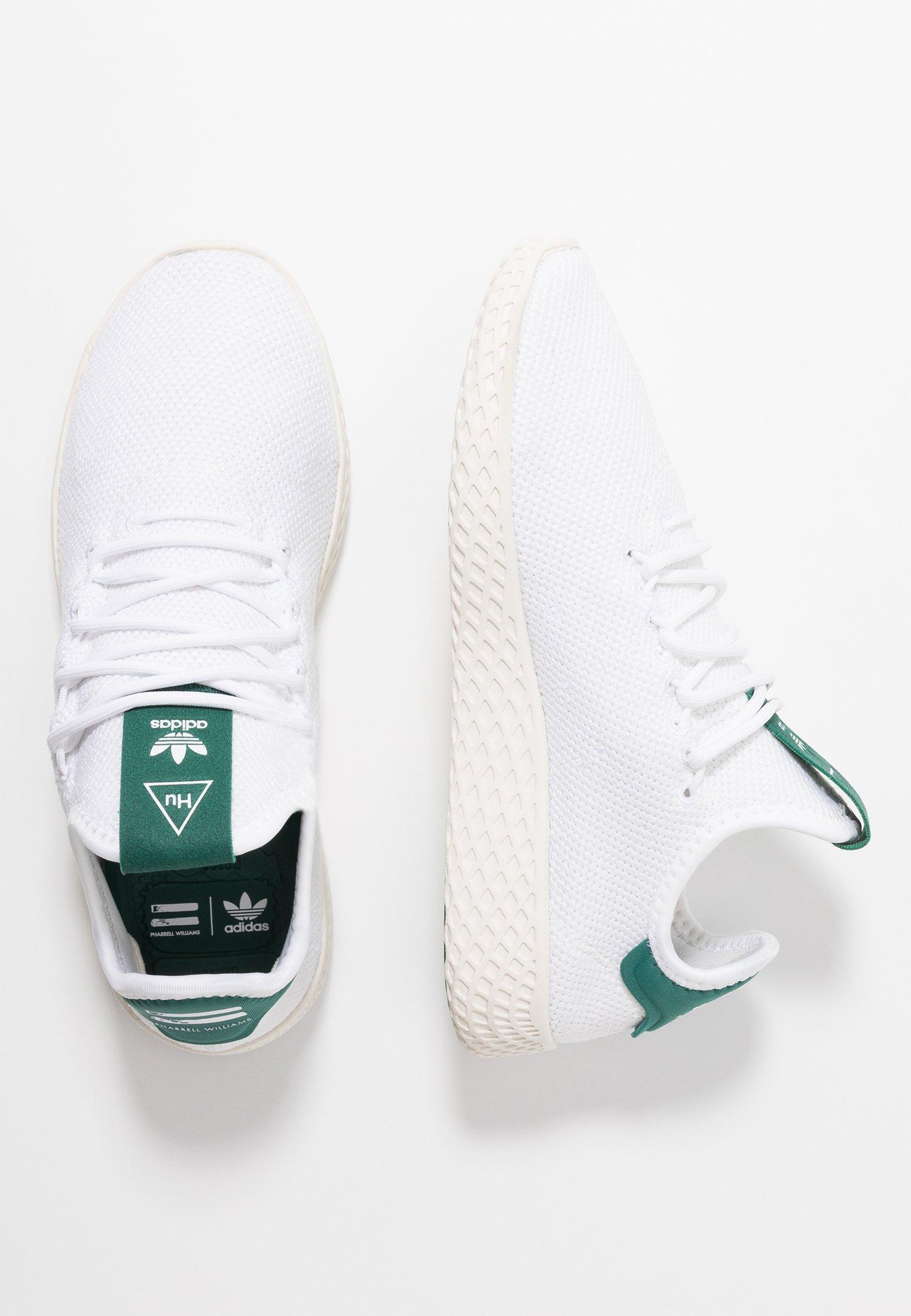 adidas Originals PW TENNIS HU - Sneakers - footwear white/offwhite/collegiate green