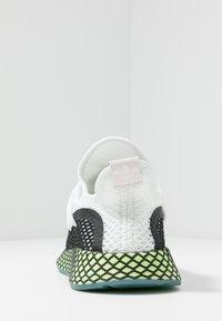 adidas Originals - DEERUPT - Sneakers laag - footwear white/core black/hi-res yellow - 3