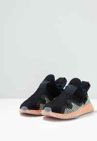 adidas Originals - DEERUPT - Sneakers laag - legend ink/linen green/core black - 2