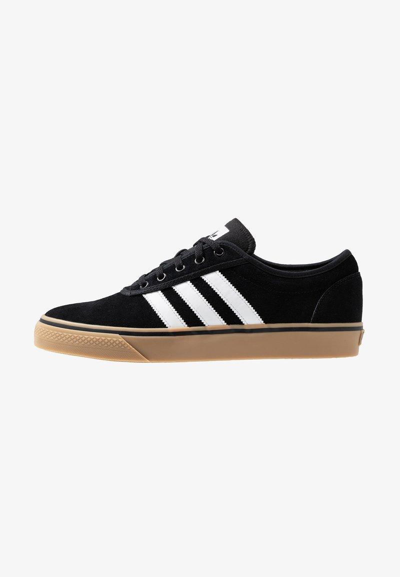 adidas Originals - ADI-EASE VULCANIZED SKATEBOARD SHOES - Sneaker low - core black/footwear white