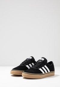 adidas Originals - ADI-EASE VULCANIZED SKATEBOARD SHOES - Sneaker low - core black/footwear white - 2