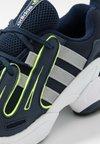 adidas Originals - EQT GAZELLE - Sneakers - collegiate navy/core black/solar yellow