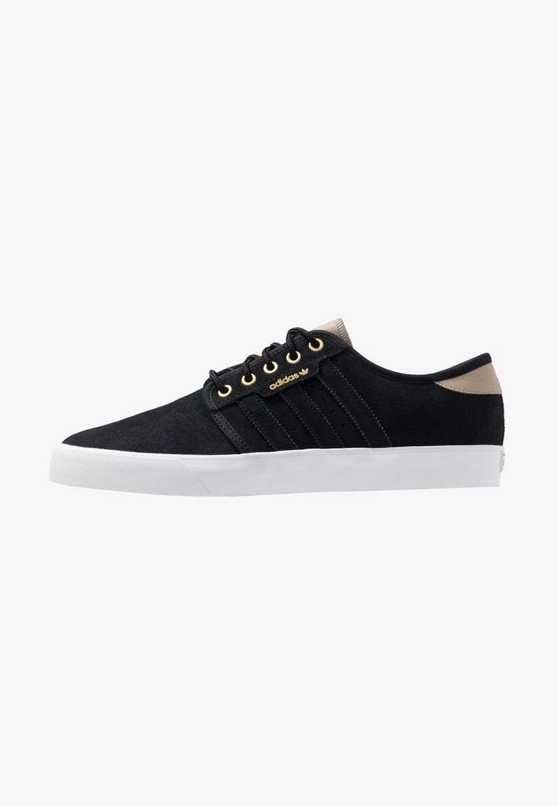 adidas Originals - SEELEY - Sneakers laag - core black/footwear white/trace khaki