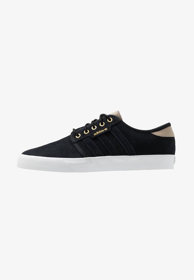 adidas Originals - SEELEY - Zapatillas - core black/footwear white/trace khaki