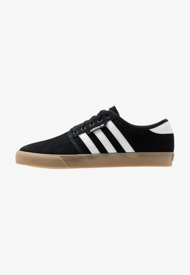 adidas Originals - SEELEY - Sneakers - core black/footwear white