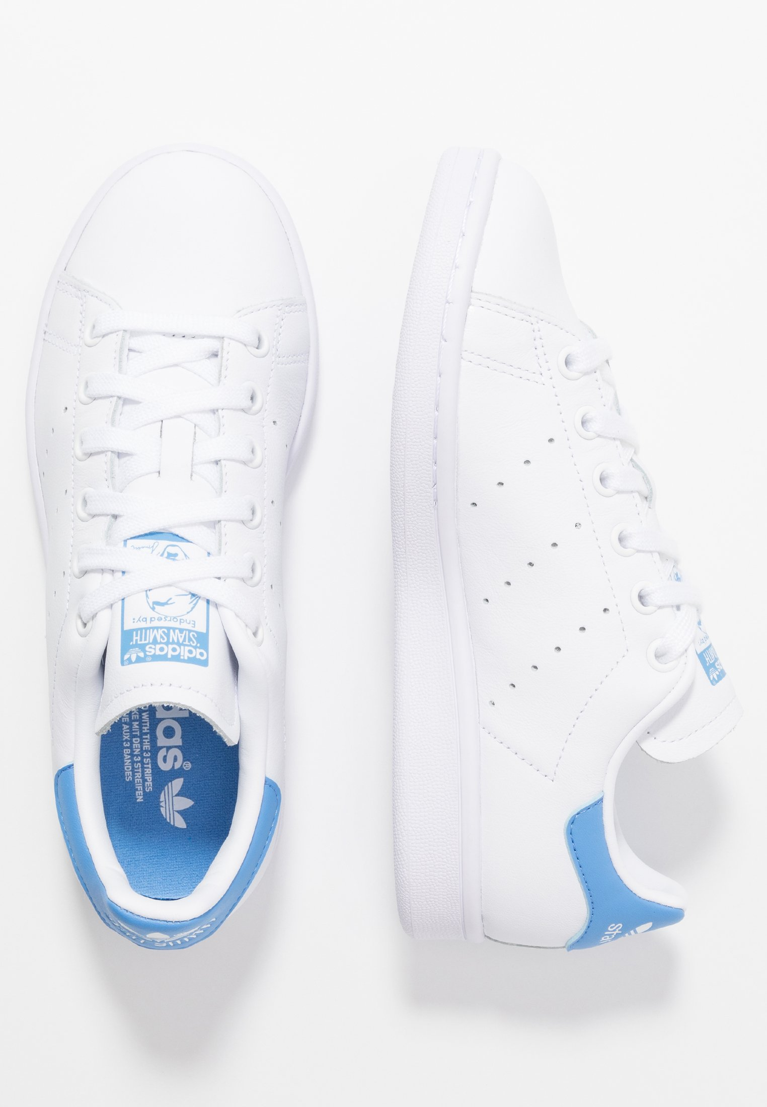 Adidas Originals Stan Smith Streetwear-style Shoes - Sneakers Basse Footwear White/real Blue bE77U8M