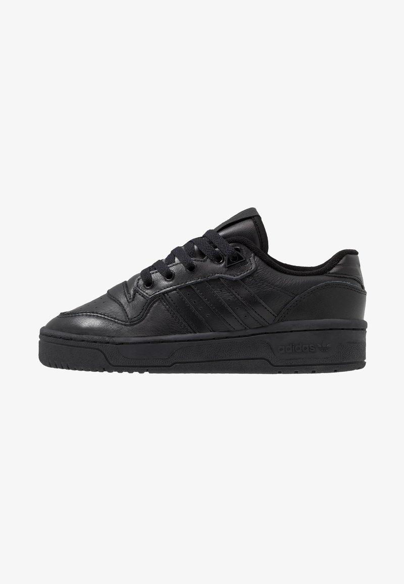 adidas Originals - RIVALRY - Matalavartiset tennarit - core black/footwear white