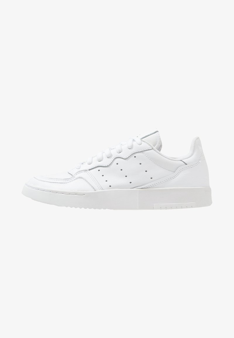 adidas Originals - SUPERCOURT - Sneakersy niskie - white/black