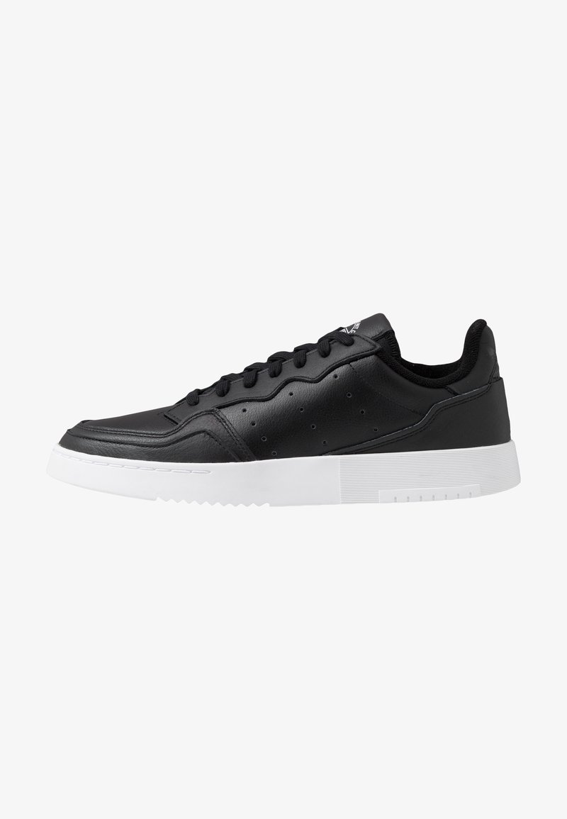 adidas Originals - SUPERCOURT - Sneaker low - cblack/cblack/ftwwht