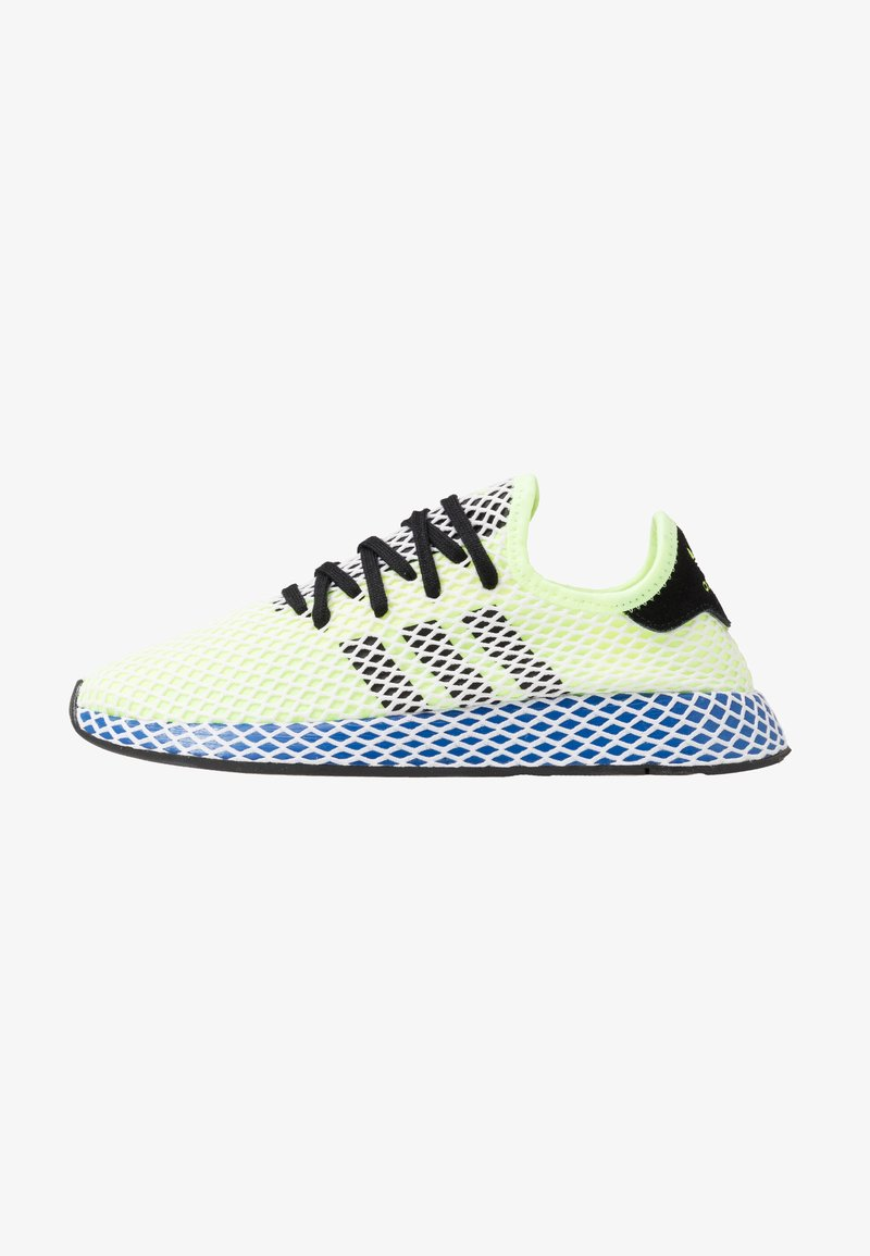 adidas Originals - DEERUPT RUNNER STREETWEAR-STYLE SHOES - Zapatillas - hi-res yellow/core black/footwear white