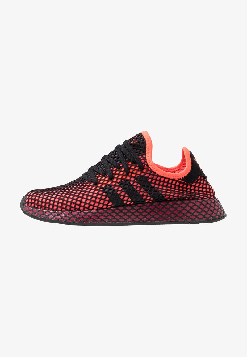 adidas Originals - DEERUPT RUNNER STREETWEAR-STYLE SHOES - Trainers - solar red/core black/collegiate burgundy