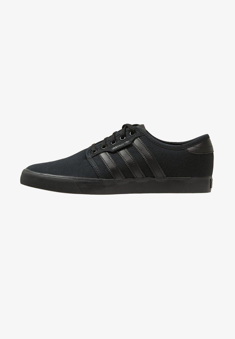 adidas Originals - SEELEY - Zapatillas skate - cblack