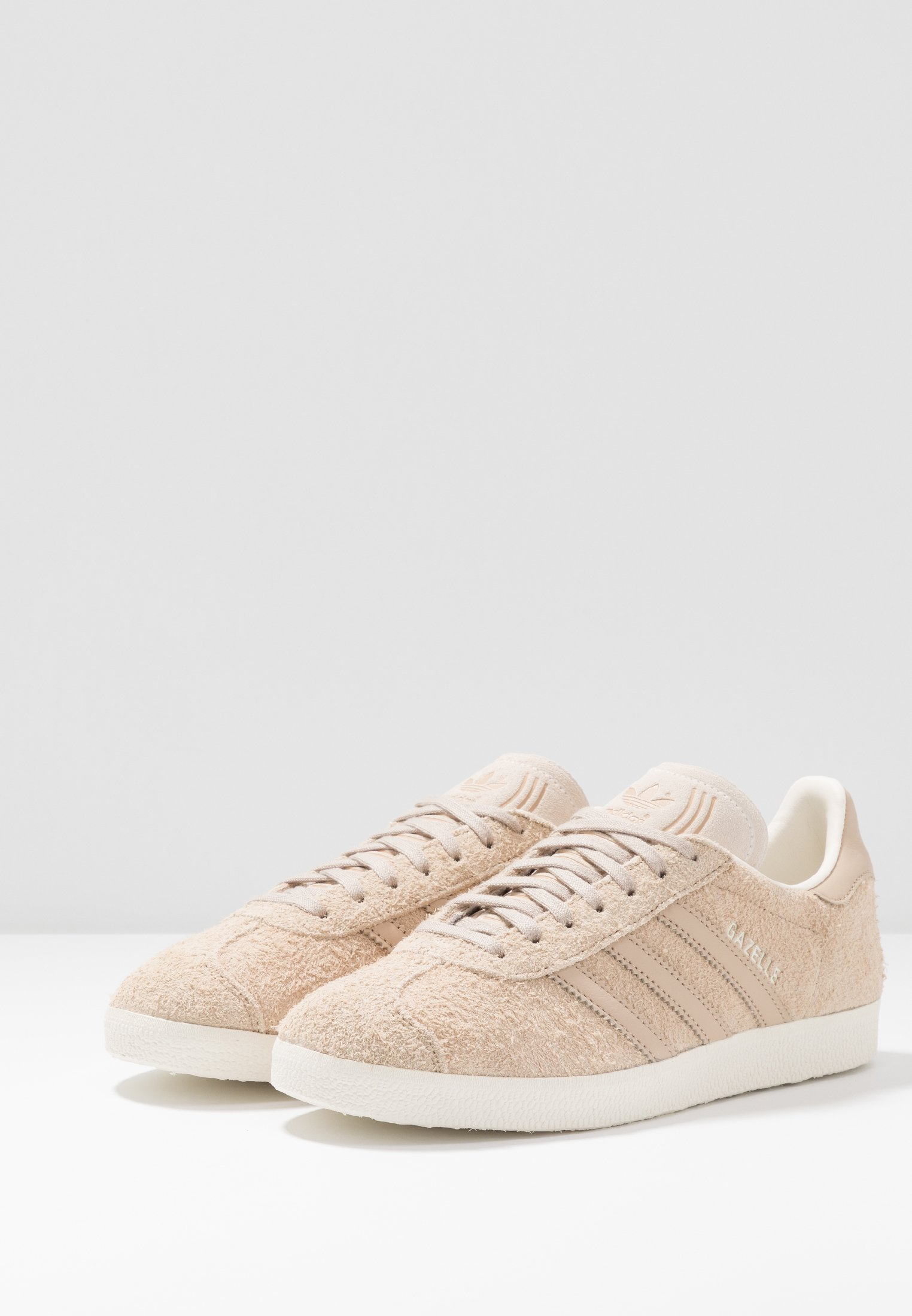 adidas Originals GAZELLE - Baskets basses pale nude/white