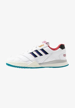 A.R. TRAINER - Joggesko - footwear white/collegiate burgundy/collegiate royal