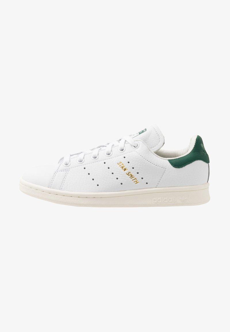adidas Originals - STAN SMITH - Baskets basses - footwear white/collegiate green