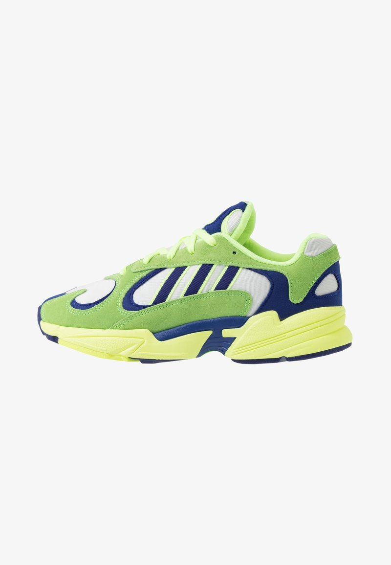 adidas Originals - YUNG-1 - Trainers - solar green/real purple/hi-res yellow