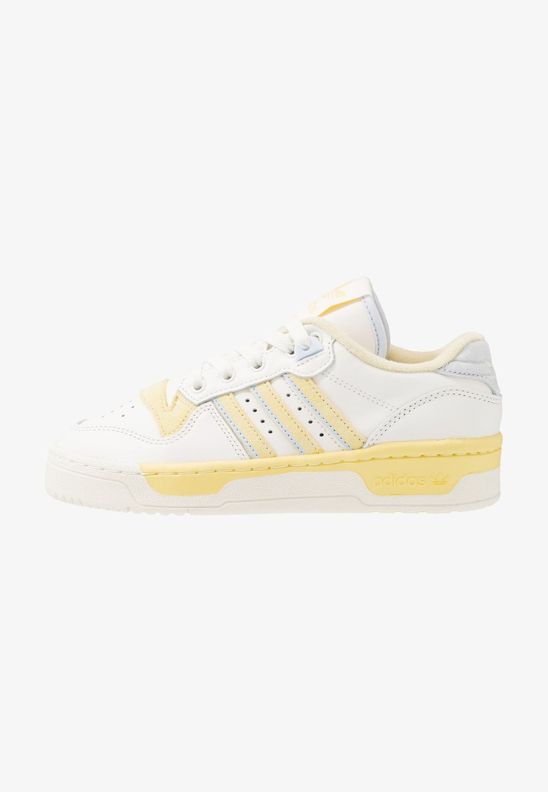 adidas Originals - RIVALRY - Sneaker low - cloud white/offwhite/easy yellow
