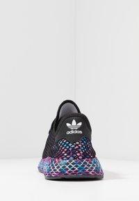 adidas Originals - DEERUPT RUNNER STREETWEAR-STYLE SHOES  - Trainers - core black/footwear white - 3